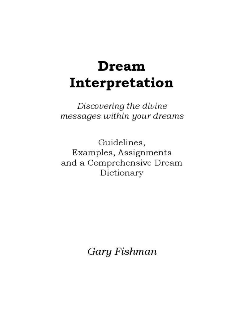 Dream interpretation matchmaking