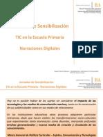 Presentación Jornadas TIC para Primaria