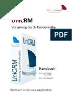 UniCRM Online Hilfe V2.6.9
