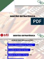 PALESTRA GESTÃO ESTRATÉGICA