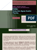 Relacion Agua Suelo Planta Grupo 01