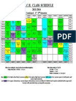 Class Schedule 2013-2014 - Combined
