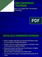Digital Data Transmission Techniques