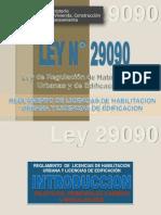 Ley 29090 Reglamento de Licencias de Habilitacion Urbana