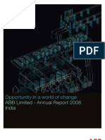 ABB - Annual Report 2008