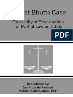 Nusrat Bhutto Case