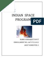 Indian Space Program Suabojit