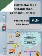 Clase Satelital 1 - 20-4-2013