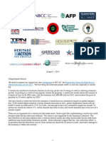 Letter to Congressman Scalise on HR 367