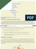 Www Facstaff Bucknell Edu Mastascu ElessonsHTML OpAmps OpAmp(2)