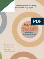 33740735 Manual Para La Creacion de Museos Comunitarios