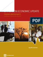 Cameroon Economic Update No.6, July2013