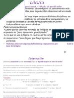 1 Unidad I Logica- Cálculo proposicional y cálculo de predicados