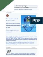 WebQuest - Vamos Poupar Agua - Um trabalho de investigação