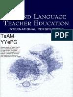 Lawrence Erlbaum - Second Language Teacher Education International Perspectives 2005
