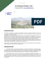 Distrito Quequena Arequipa Peru