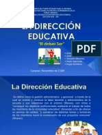 Practicas Educativas La Direccion II