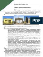 Neoclasicismo Nuevos Conceptos de Urbanismo y Arquitectura Curso 2011
