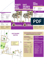 eastvalinda shuttle brochure