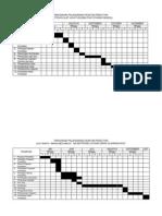 jadwal penelitian2011