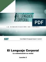 Curso Digital - El Lenguaje Corporal - Leccion 3