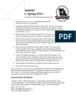 The Show-Me Institute's Spring 2014 Intern Application