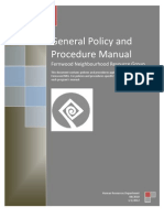 fernwood pdf 2012 general policy  procedure manual 6