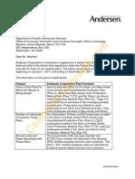Andersen Corporation - Redacted HWM