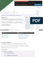 Codex Wordpress Org Widgets API