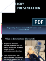 Respiratory Therapy Presentation