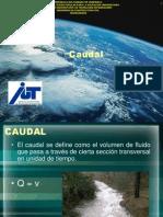 Hidrología - El Caudal.ppt