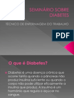 SEMINÁRIO SOBRE DIABETES