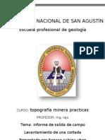 INFORME DE LEVANTAMIENTO DE UNA CORTADA.doc