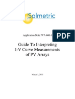 Guide to Interpreting I-V Curves