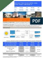 Info Newsletter GeneradorSOLARTEC Catalogo Generadores Viviendas Pequenas Precios Publico 21-01-2011