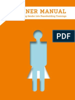 Trainer Manual Gender
