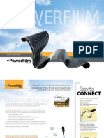 PowerFilm Solar Energy Product Line