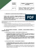 chapitre financement de l'économie 2008-2009