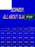 Glacier Jeopardy- Science Bowl