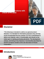 Extending Applications With Oracle BPM