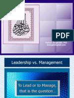 3-Leadership vs Mgt