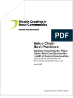 Value Chain Best Practices