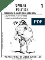 2011 - PoderPopular y LuchaPolitica