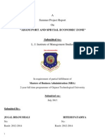 Project Report on Adani Port