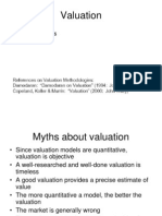 Valuation Samples