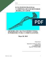 Memoria Estructural - Puente Centrica