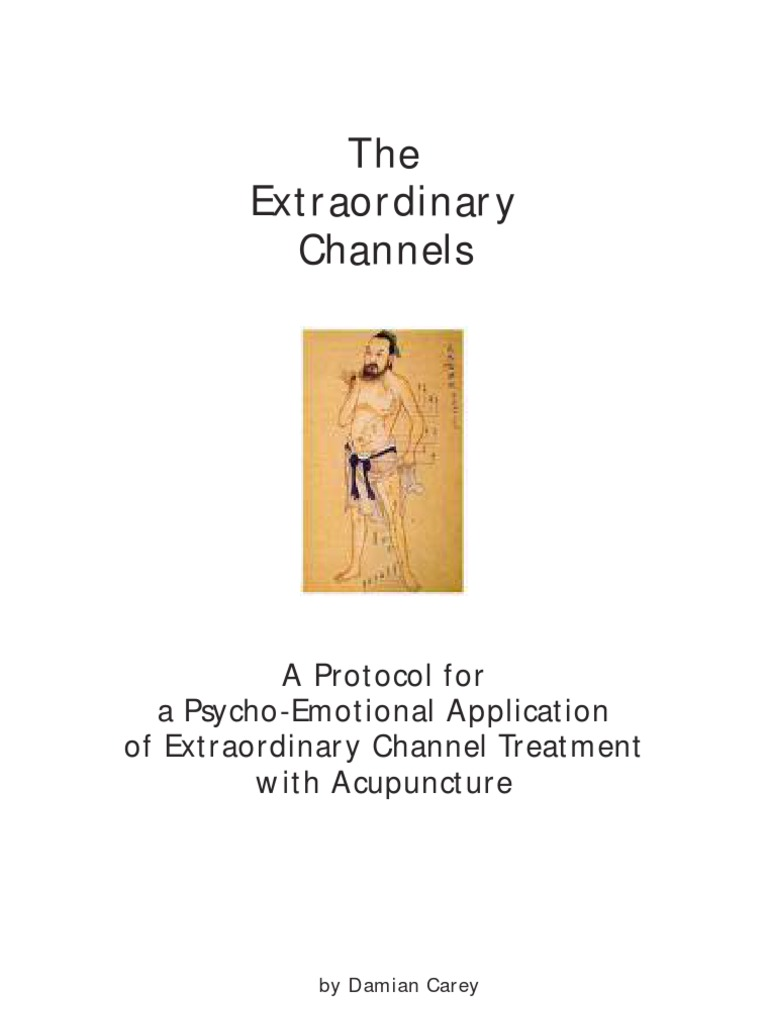 The Extraordinary Channels   Traditional Chinese Medicine   Acupuncture