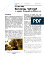 Biosolids Technology Fact Sheet - In-Vessel Composting