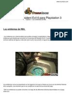 Guia Resident Evil 6 Playstation 3