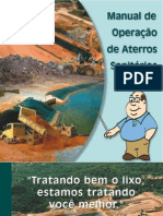 Cartilha Operação Aterro Sanitário CONDER